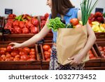 beautiful young girl with a...   Shutterstock . vector #1032773452