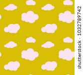 vector seamless pattern with... | Shutterstock .eps vector #1032789742