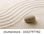 zen sand and stone garden with... | Shutterstock . vector #1032797782