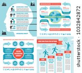 business infographic templates... | Shutterstock .eps vector #1032842872