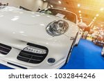 close up of a white sport...   Shutterstock . vector #1032844246