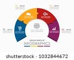 infographic template. vector...   Shutterstock .eps vector #1032844672