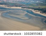 aerial view of the baie de l... | Shutterstock . vector #1032855382