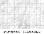 topographic map background... | Shutterstock .eps vector #1032858022
