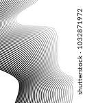white black color. linear... | Shutterstock .eps vector #1032871972