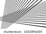 black straight lines abstract...   Shutterstock .eps vector #1032896305