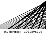 black straight lines abstract... | Shutterstock .eps vector #1032896308
