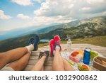 legs of traveler family   Shutterstock . vector #1032900862