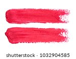 photo of red lipstick smudges... | Shutterstock . vector #1032904585