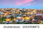 the historic quarter of... | Shutterstock . vector #1032908872