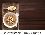 chocolate oatmeal or oat... | Shutterstock . vector #1032910945