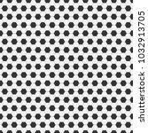 seamless pattern of soccer ... | Shutterstock .eps vector #1032913705