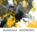 black and white with gold... | Shutterstock . vector #1032962545