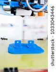 3d printer of the device during ... | Shutterstock . vector #1033043446