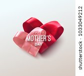 happy mothers day. vector... | Shutterstock .eps vector #1033049212