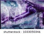 macro mineral stone fluorite... | Shutterstock . vector #1033050346