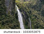 scenery at milford sound  south ... | Shutterstock . vector #1033052875