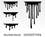 current paint  stains. current... | Shutterstock .eps vector #1033057456