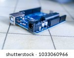 arduino.electronics diy... | Shutterstock . vector #1033060966