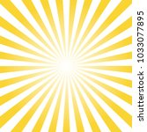 abstract rays background | Shutterstock .eps vector #1033077895