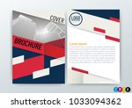 abstract modern background ... | Shutterstock .eps vector #1033094362