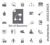 chart document icon. simple... | Shutterstock .eps vector #1033133425