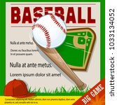 Invitation To The Baseball Gam...