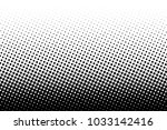 abstract futuristic halftone... | Shutterstock .eps vector #1033142416