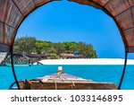 prison island. zanzibar ...   Shutterstock . vector #1033146895