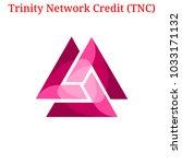 vector trinity network credit ... | Shutterstock .eps vector #1033171132