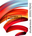 bright color paint stains for... | Shutterstock .eps vector #1033178242