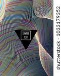modern children minimal cover... | Shutterstock .eps vector #1033179352