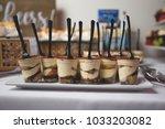 amazing wedding desserts    Shutterstock . vector #1033203082