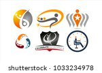 success life coaching logo set | Shutterstock .eps vector #1033234978