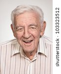 smiling 90 year old elder... | Shutterstock . vector #103323512