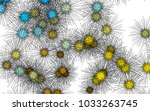 light colored vector template... | Shutterstock .eps vector #1033263745