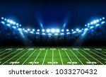american football arena field... | Shutterstock .eps vector #1033270432