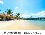 vietnam nha trang pearl island | Shutterstock . vector #1033277632