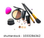 face contouring make up ... | Shutterstock . vector #1033286362