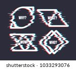 set of simple geometric form... | Shutterstock .eps vector #1033293076