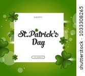 postcards from st. patrick's day | Shutterstock .eps vector #1033308265