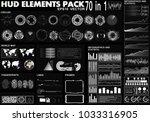 hud elements pack. 70 elements. ...