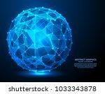 big data  vector illustration.... | Shutterstock .eps vector #1033343878