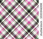tartan seamless pattern. vector ... | Shutterstock .eps vector #1033346008
