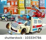 emergency team | Shutterstock . vector #103334786