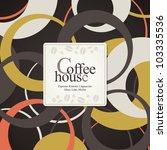 menu for restaurant  cafe  bar  ... | Shutterstock .eps vector #103335536