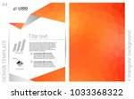 light orange vector  layout for ...
