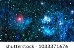 abstract background of universe | Shutterstock . vector #1033371676