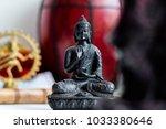 religious figures of indian... | Shutterstock . vector #1033380646