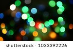 out of focus multicolored... | Shutterstock . vector #1033392226